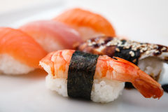 Different sushi set Stock Images
