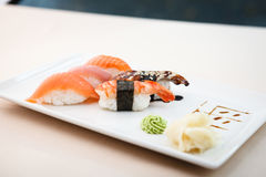 Different sushi set Royalty Free Stock Photography