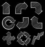 Different symbols Stock Photos