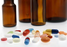 Different tablets, medicine Stock Image