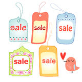 Different tags Royalty Free Stock Image