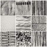 Different textures Royalty Free Stock Photos