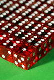 Different than others. Group pressure with dice Stock Photos