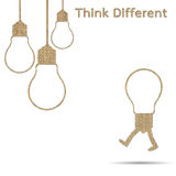 Different think Royalty Free Stock Photos