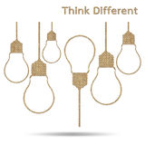 Different thinking Stock Image