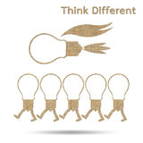 Different thinking Stock Photos
