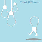 Different thinking Royalty Free Stock Photos