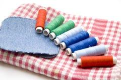 Different thread rolls Stock Image