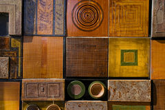 Different tiles Royalty Free Stock Images
