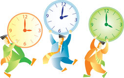 Different time Stock Image