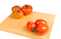 Different tomato sorts Stock Photo
