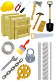 Different Tools Stock Photography