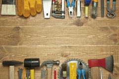Different tools stock image