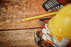 Different tools Royalty Free Stock Image