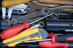 Different tools Royalty Free Stock Photo