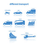 Different transport. Royalty Free Stock Image