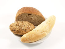 Different type of bread Royalty Free Stock Images