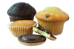 Different type of cakes Royalty Free Stock Photo