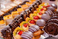 Different type of cakes Royalty Free Stock Image