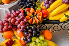 Different type fruits Royalty Free Stock Photography