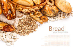Different types of bread Stock Photography