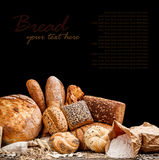Different types of bread Royalty Free Stock Photography
