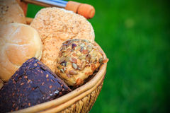 Different types of bread Royalty Free Stock Images