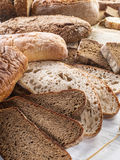 Different types of bread. Royalty Free Stock Photography