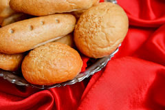 Different types of bread Stock Images