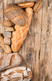 Different types of bread. stock photography