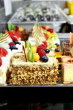 Different types of cakes Royalty Free Stock Photography