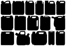Different Types Of Canisters Royalty Free Stock Photos