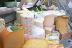 Different types of cheese Royalty Free Stock Photography