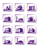 Different types of construction Stock Image