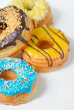 Different Types of Donuts Stock Photo
