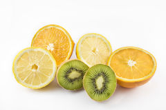 Different types of fruits. stock image