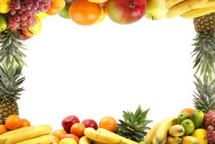 Different types of healthy fruits Stock Photography
