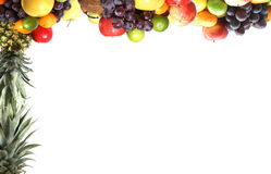 Different types of healthy fruits Royalty Free Stock Images