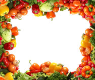 Different types of healthy vegetables Stock Images