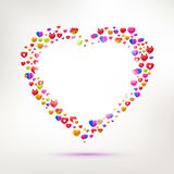 Different types of Love symbol Royalty Free Stock Photo