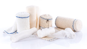 Different types of medical bandages Royalty Free Stock Photography