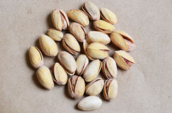 Different types of nuts Royalty Free Stock Photography