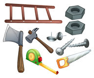 Different Types Of Construction Tools Stock Images