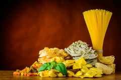 Free Different Types Of Pasta With Copy Space Royalty Free Stock Photography - 69612737