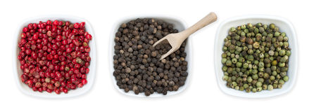 Different Types Of Pepper Stock Photo