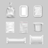 Different types of packaging. In vector royalty free illustration