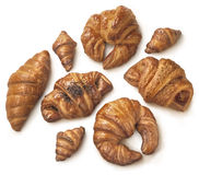 Different types of pastry and bakery Royalty Free Stock Photo