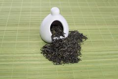 Different types of tea royalty free stock photo
