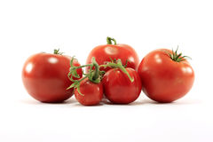 Different types of tomatoes Stock Photo