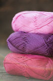 Different types of yarn Stock Image
